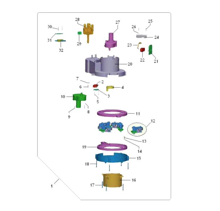 Bianchi - Lei 400 / Dispensador de copos