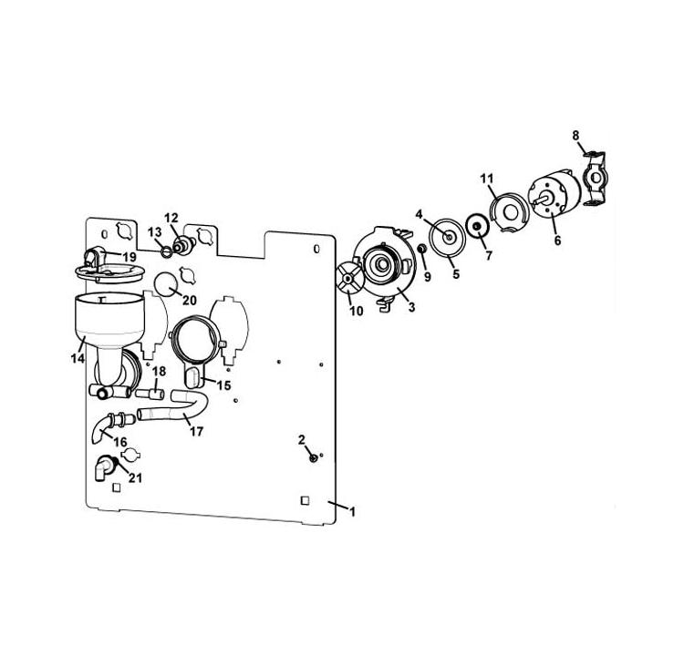 Rhea - Mini Rhea / Conjunto misturador