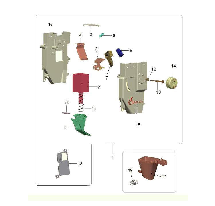 Bianchi - 931 / Doseador de café