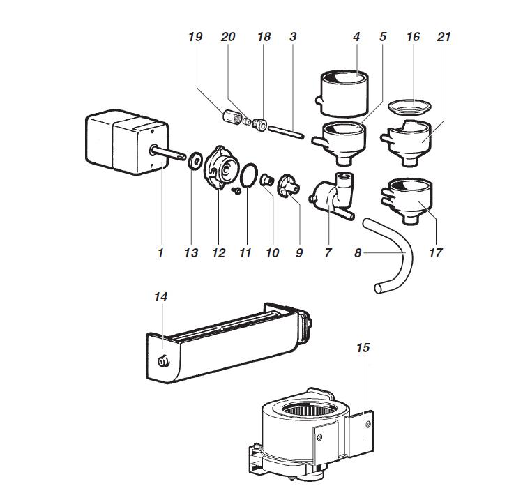 Ducale - Montecarlo / Grupo misturador de solúveis