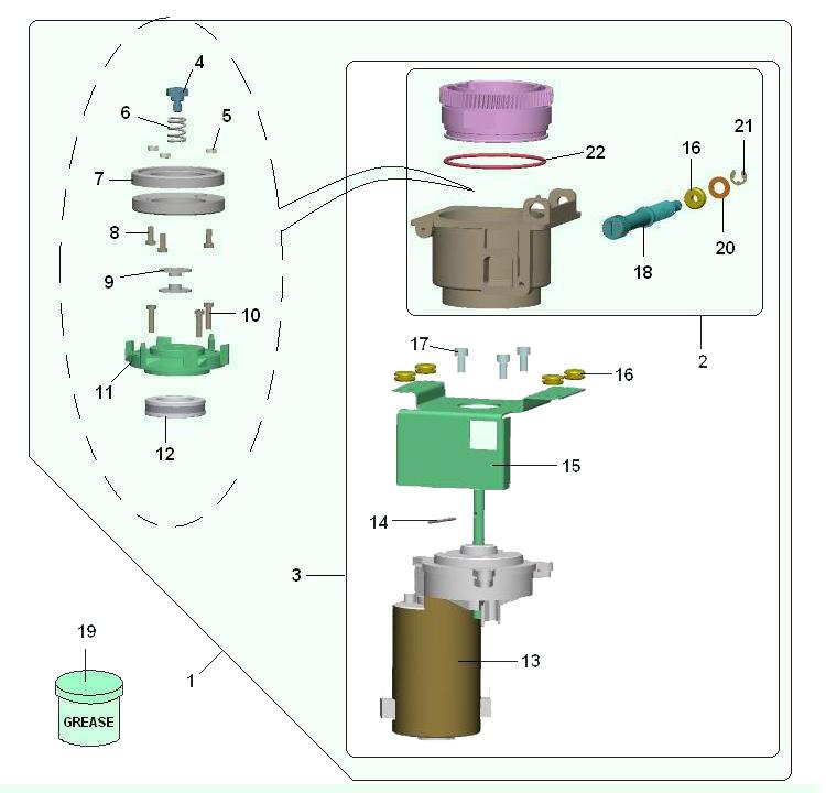 Bianchi - Antares / Moinho(motor vertical)