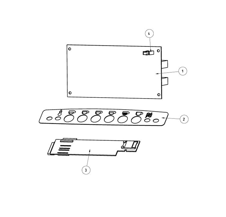 Rhea - Mini Rhea / Teclado/Placa controlo e potência