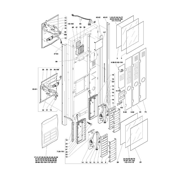 Necta Zanussi  -  Astro 29 / Porta