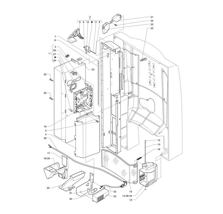 Necta Zanussi - Brio 3 39 / Porta Interior