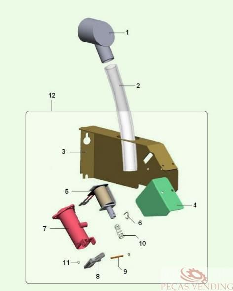 Bianchi - 921 / Dispensador de açucar