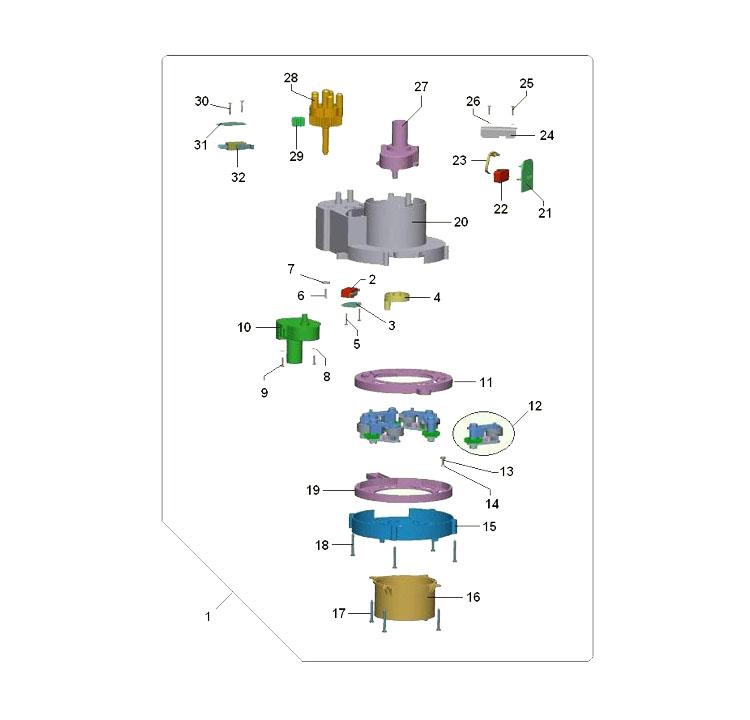 Bianchi - Antares / Dispensador de copos